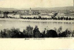 Basel - Horburgquartier Rhein + Ca. 1900 - BS Bâle-Ville