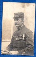 Carte Photo -- Officier Du 25 Reg Inf - Guerre 1914-18