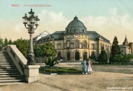 Basel - Universitätsbibliothek Belebt + C1905 - BS Bâle-Ville