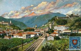 Bellinzona - Gotthardbahn + C1905 - TI Tessin