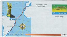 """ESPAGNE  1981 -. Raid Palos De Moguer - Buenos Aires. 1926 - Dornier Do J """"Wal"""" (Baleine) - Airplanes"""