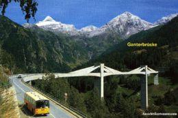 Brig - Ganterbrücke - PTT Postauto Simplon + 1991 - VS Wallis