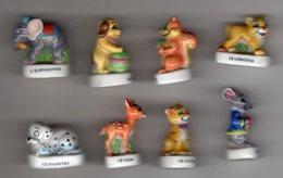 Série Quasi-complète 8/9 Fèves Brillantes LES PETITS ANIMAUX Nordia 1999 - Animals