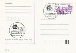 I0295 - Tschechoslowakei (1991) Prostejov 1: Agro Bank Hana, Aktiengesellschaft - Fabriken Und Industrien