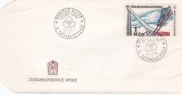 Ceskoslovensko Cover 1974 Ski Jumping Vysoke Tatry (DD20-27) - Jumping