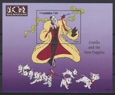 2453  -  The GAMBIA - Disney - 1997 - 101 Dalmatians ( Cruella And The New Puppies ) . - Disney