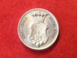 Token Chip Jeton Kegel Verein Preussische Münze Frenkner 18.5.23 XI - Pièces écrasées (Elongated Coins)