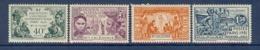 NOUVELLE CALEDONIE N° 162/165 EXPO COLONIALE DE 1931 ** - Neufs