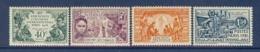COTE DES SOMALIS N° 137/140 EXPO COLONIALE DE 1931 ** - Neufs