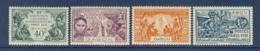 GABON N° 121/124 EXPO COLONIALE DE 1931 ** - Neufs