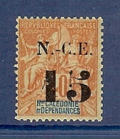 NOUVELLE CALEDONIE N° 66 * - Neufs