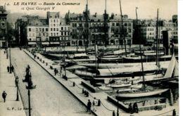 N°67032 -cpa Le Havre -le Bassin Du Commerce- - Port