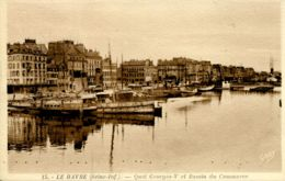 N°67034 -cpa Le Havre -le Bassin Du Commerce- - Port