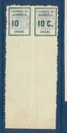 GREVE N° 1a SANS LE C TENANT A NORMAL ** - Strike Stamps