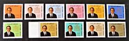 ROI HASSAN II 1973 - NEUFS **/* - 11 VALEURS - Morocco (1956-...)