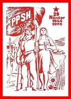 CPSM/gf  ALBANIA.  Affissu Di Zef Shoshi 1976 (Alliance Des Ouvriers Et Des Paysans)...I0037 - Albania