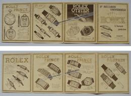 Ancien Catalogue Dépliant Montre Rolex Oyster Viceroy Prince Dauphin Horlogerie Charvet Lyon - Montres Haut De Gamme