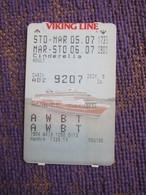 Viking Line Cruise - Biglietti Di Trasporto