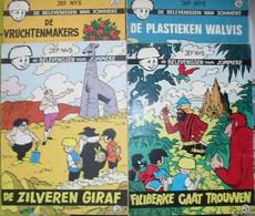 4 Strips Nr. 43 Filiberke Gaat Trouwen - 48 De Zilveren Giraf - 50 De Plastieken Walvis - 56 De Vruchtenmakers - Jommeke