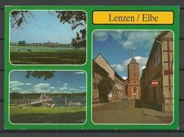 Deutschland LENZEN (sent 1997, With Stamp) - Lenzen
