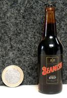 Mignonnette - IRLANDE Bière BEAMISH Stout Bouteille Miniature 8.5cm (en Verre + Capsule Métal) - Mignonnettes