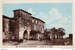 MONTPEZAT-de-QUERCY Avenue De La Poste.  TBE - Montpezat De Quercy