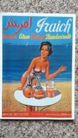 CPM PUBLICITE BOISSON MANDARINETTE MAILLOT DE BAIN PIN UP NUGERON J 95 FRAICH 1959  2EME CHOIX REPRO - Pubblicitari