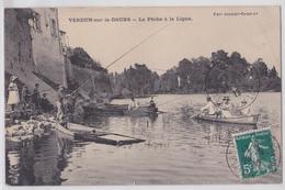 VERDUN-SUR-LE-DOUBS - La Pêche à La Ligne - Autres Communes