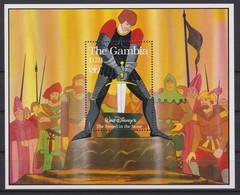 2456  -  The GAMBIA - Disney - 1990 -  ( Het Zwaart In De Steen ) . - Disney