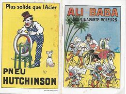 Plaquette - ALI BABA Et Les Quarante Voleurs - Pneu HUTCHINSON - MICH - 1900 - - Transports