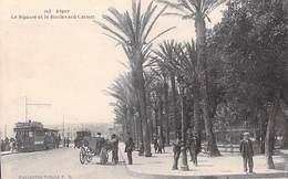 Afrique > Algérie > ALGER Le Square Et Le Boulevard Carnot (tram Tramway Calèche)(Editions  Idéale P.S 103)* PRIX FIXE - Algeri