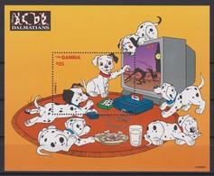 2458  -  The GAMBIA - Disney - 1997 - 101 Dalmatiërs ( Het Electronic Spel ). - Disney