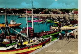 Giulianova Lido Il Porto Le Port  ( Bateau , Cargo - Italia