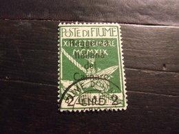 FIUME 1920 POSTA MILITARE 2 L Su 5 C USATO - 8. Occupazione 1a Guerra