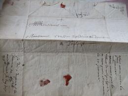 Courrier Fait Au PUY 1741 - Documents Historiques