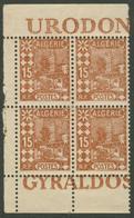 COLFRA - ALG - 15c MOSQUEE ABDERAHMANE -  N°39 - ISSU DE CARNET- PUB - Algérie (1924-1962)