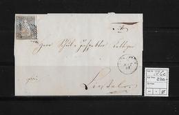 1854-1862 SITZENDE HELVETIA Ungezähnt (Strubel)  → SBK-23Cc / B3.III Nach Liestal - 1854-1862 Helvetia (Non-dentelés)