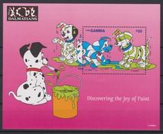 2461  -  The GAMBIA - Disney - 1997 - 101 Dalmatiërs ( Discovering The Joy Of Paint ). - Disney