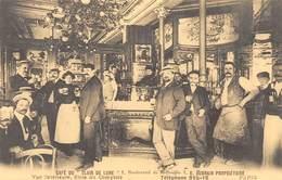 """Paris - Café Du """"Clair De Lune"""" - Vue Intérieure, Salle Du Comptoir - Cecodi N'P 142 - France"""