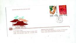 Lettre Fdc Village Sos Enfant - Viêt-Nam