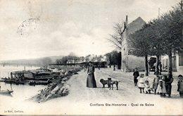 CONFLANS Ste HONORINE - QUAI De SEINE - - Conflans Saint Honorine