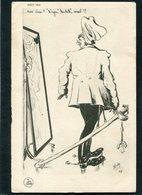 "CPA - Illustration Boby - Guillaume - Non Vrai! ""liège"" Habille Mal!! - Guerre 1914-18"
