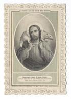 IMAGE PIEUSE  DENTELLE  Je Donne Ma Vie Pour Mes Brebis - Images Religieuses