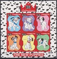 2462  -  The GAMBIA - Disney - 1997 - 101 Dalmatiërs ( De Nieuwe Pup's ). - Disney