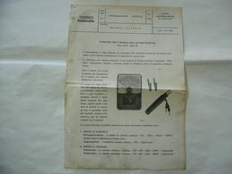 DEPLIANT SCHEDA TECNICA INNOCENTI LAMBRETTA AUTOMOTOTESTER - Médecine, Biologie, Chimie
