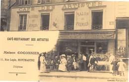 Paris - Café-Restaurant Des Artistes - 11 Rue Lepic, Montmartre - Cecodi N'P 148 - France
