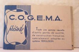 AGRICULTURE -  C.O.G.M.A.   Toute Une Gamme Nouvelle D'outils Portés -( FERGUSON ) - Quartier Cellony - AIX EN PROVENCE - Vieux Papiers