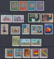 1981 ** Luxemburg (sans Charn., MNH, Postfrish) Complete   Mi 1022/45   Yv 972/95  (24v) - Luxembourg