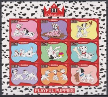 2462 A -  The GAMBIA - Disney - 1997 - 101 Dalmatiërs ( De Nieuwe Speelende Pup's ). - Disney