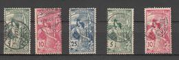1900  LOT  BONNE COTE  CATALOGUE ZUMSTEIN - 1882-1906 Wappen, Stehende Helvetia & UPU